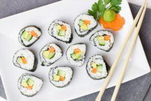 Sushi bewaren