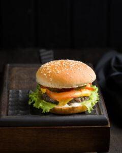 Hamburgers bewaren