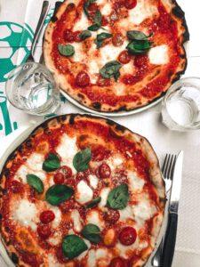 Pizza bewaren