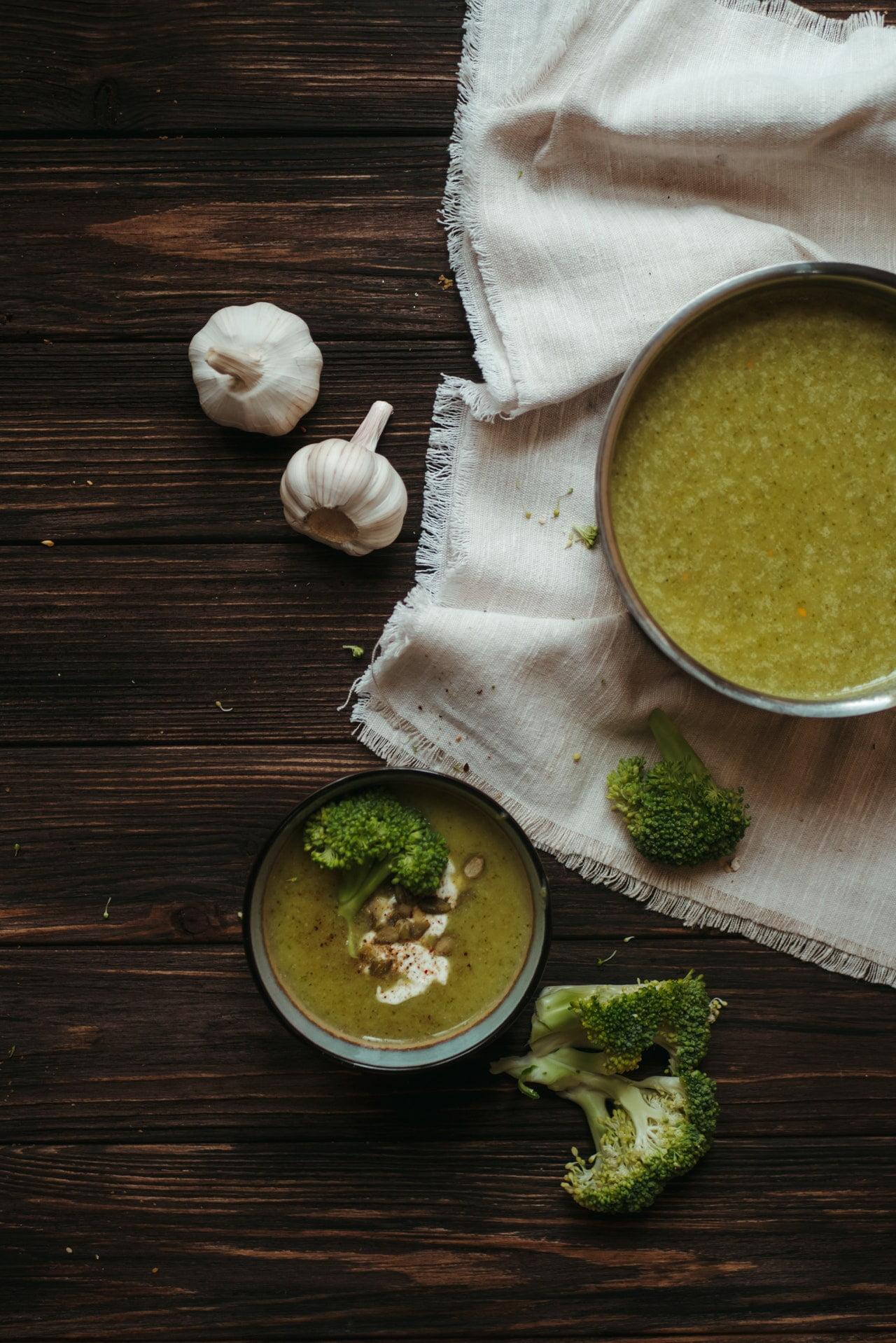 Broccolisoep bewaren