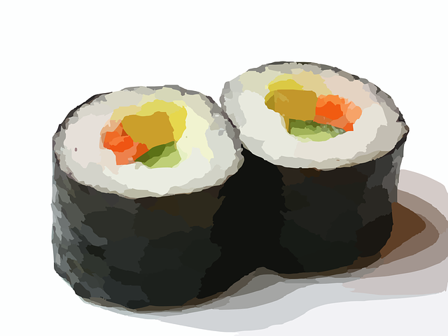 sushi bewaren stappen